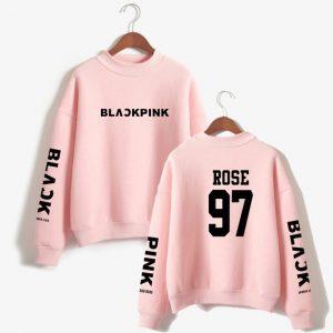 BlackPink- Rose Sweatshirt #7