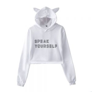 BTS Speak Yourself Cropped Hoodie #6