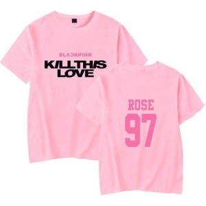 Kill This Love Tshirt Rose