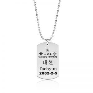 TXT Necklace Taehyun