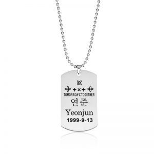 TXT Necklace Yeonjun