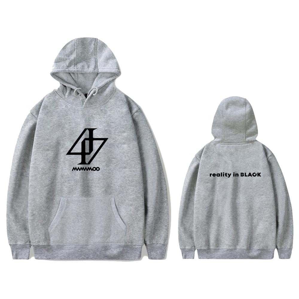 mamamoo reality in black hoodie