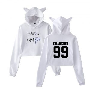 Stray Kids Cropped Hoodie #7