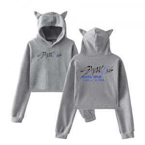 Stray Kids Cropped Hoodie #8