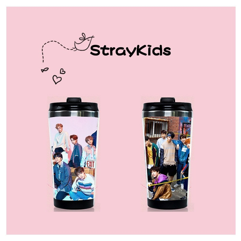 stray kids water bottle