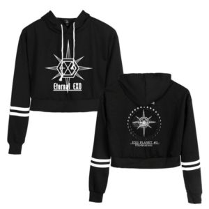 EXO Cropped Hoodie #6