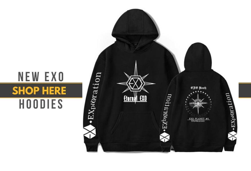 exo hoodies