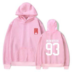 MonstaX Pink Hoodie