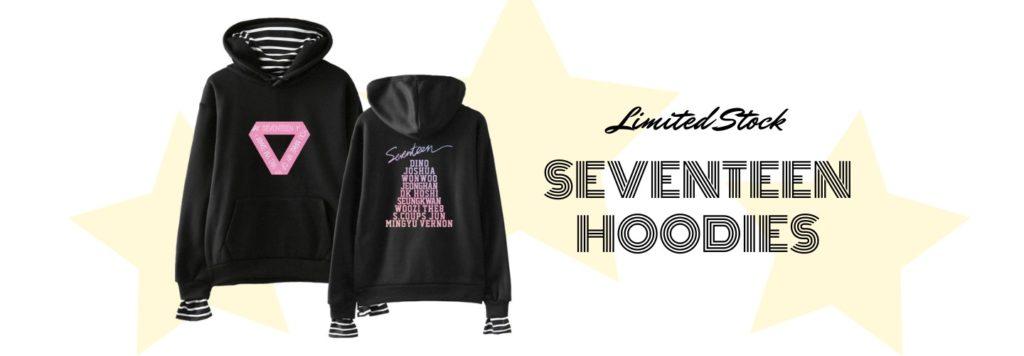 seventeen hoodies