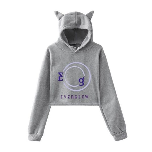 everglow cropped hoodie