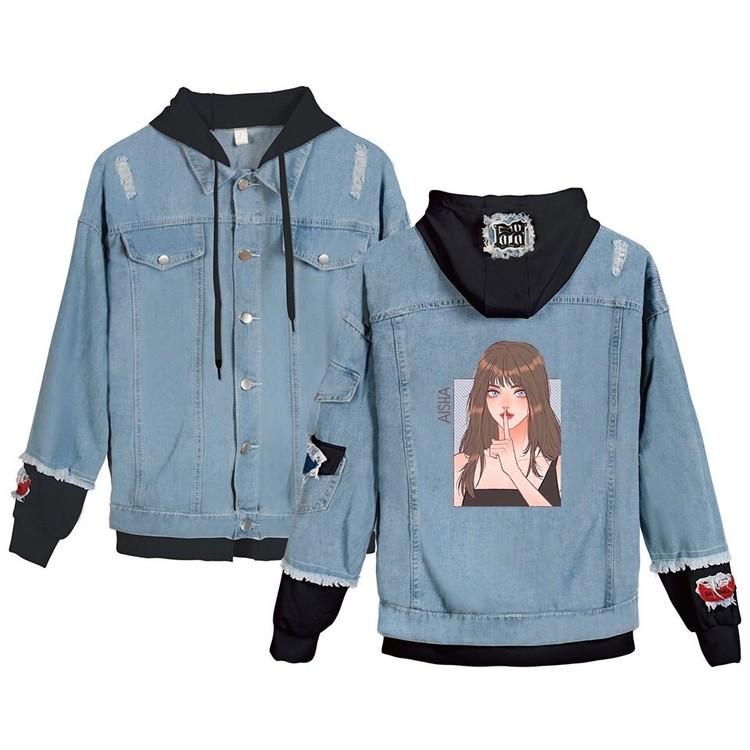 everglow denim jacket