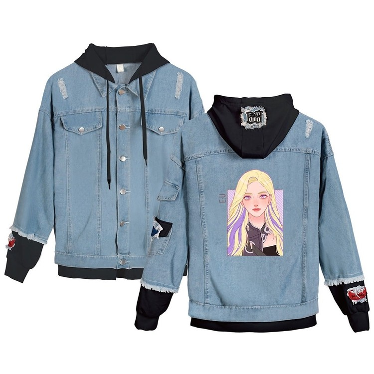 everglow denim jacket
