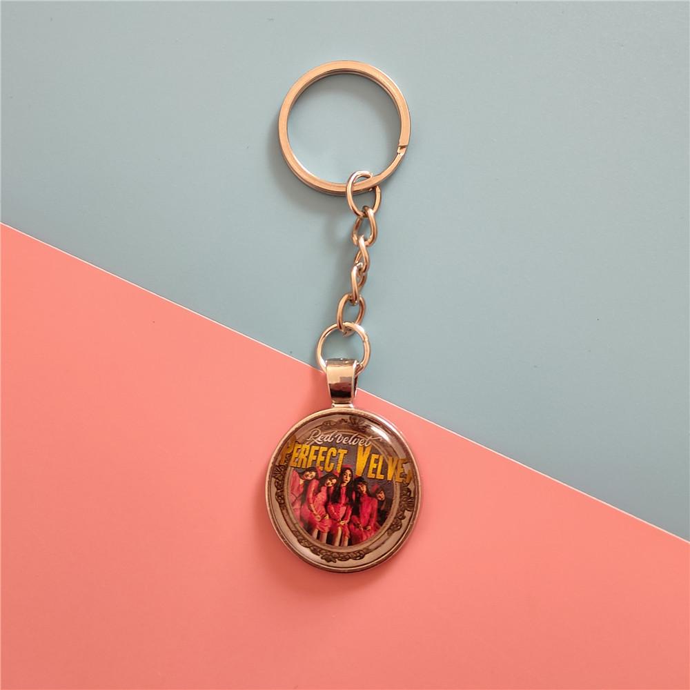 red velvet keychain