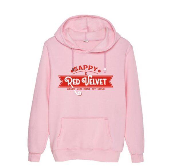 red velvet hoodie