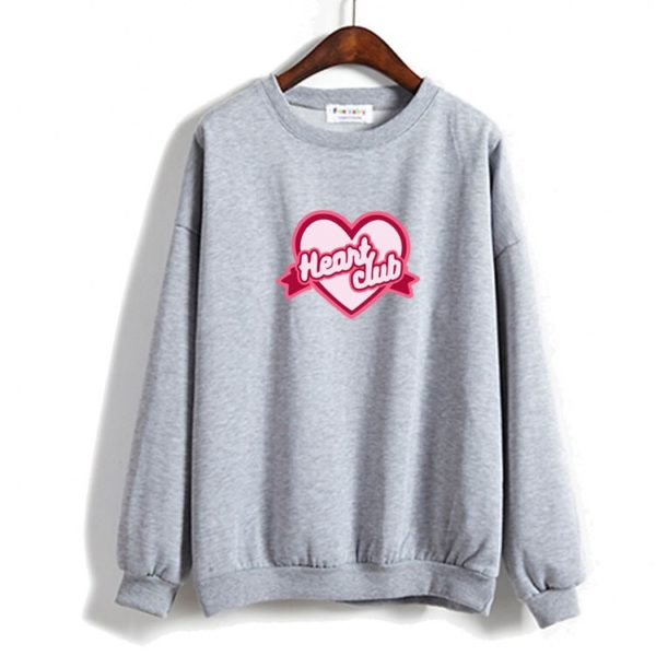 red velvet sweatshirt