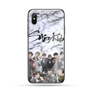 Stray Kids Tempered Glass iPhone Case #9