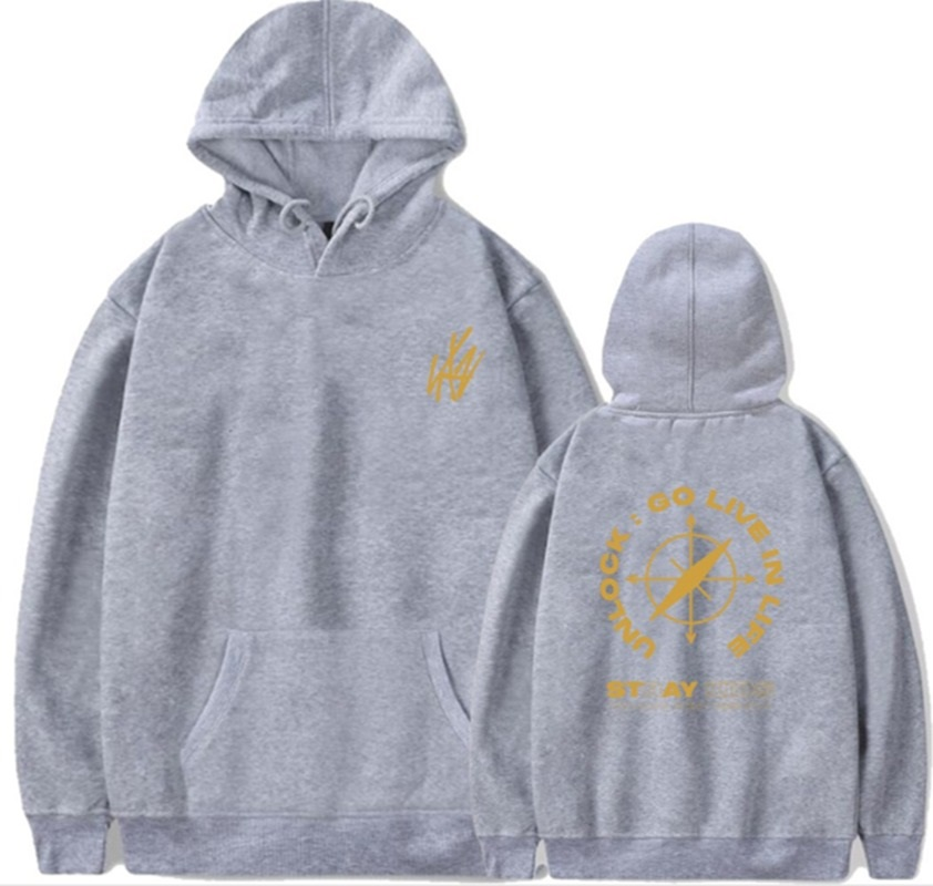 stray kids go live in life hoodie
