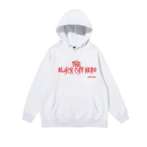 Ateez THE BLACK CAT NERO Hoodie