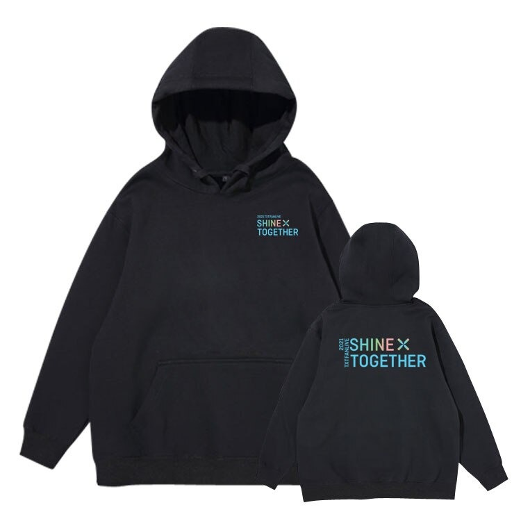 TXT 2021 FANLIVE SHINE X TOGETHER hoodie
