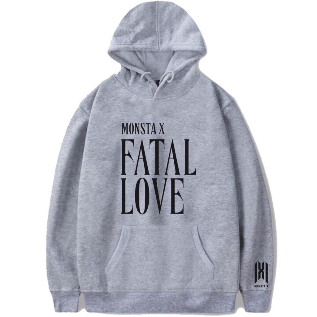 MonstaX Fatal Love Hoodie