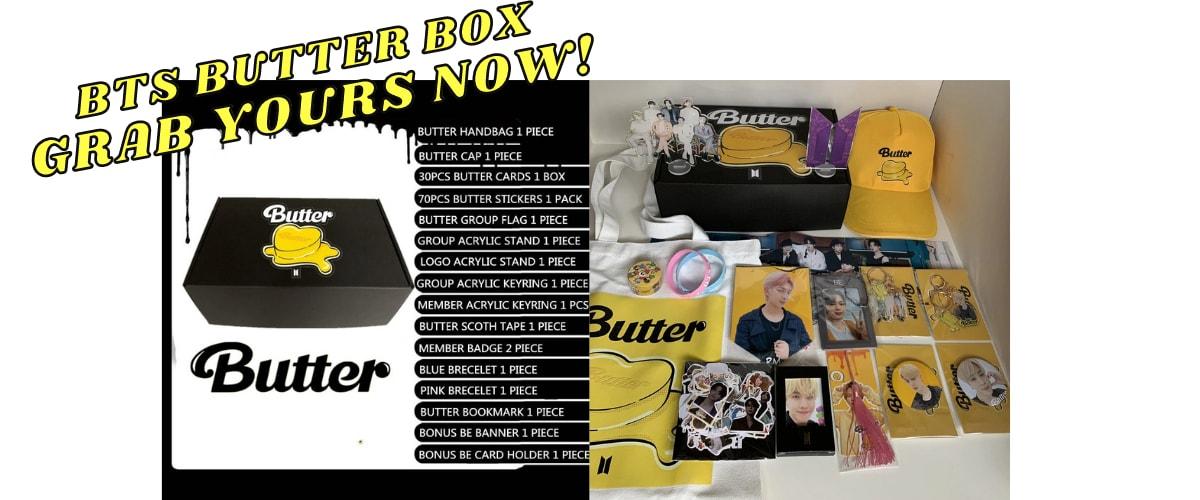 bts butter box