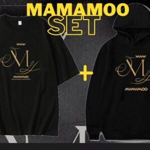 Mamamoo Hoodie + T-Shirt Set